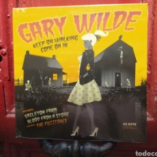 Discos de vinilo: GARY WILDE–KEEP ON WALKING. EP VINILO PRECINTADO. GARAGE ROCK.. Lote 275224568