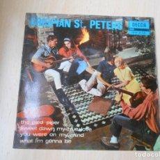Discos de vinilo: CRISPIAN ST. PETERS, EP, THE PIED PIPER + 3, AÑO 1966. Lote 275234303
