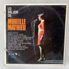 Discos de vinil: LP - VINILO LO MEJOR DE MIRELLE MATHEU - ESPAÑA - AÑO 1968. Lote 275237443