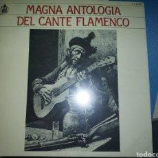 Discos de vinilo: ANTOLOGÍA DEL CANTE FLAMENCO, 20 VINILOS, ALGUNOS SIN ABRIR. Lote 275243773