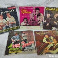 Discos de vinilo: 5 DUOS - 5 EPS AÑOS 60. Lote 275251793