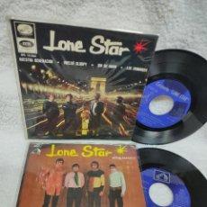 Discos de vinilo: LONE STAR - EP Y SINGLE DE LOS 60. Lote 275252338