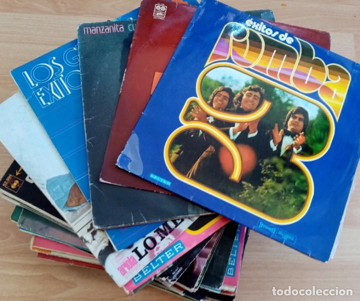 SUPER LOTE!! 50 LPS MÚSICA FLAMENCO AÑOS 80/90 (Música - Discos - Singles Vinilo - Flamenco, Canción española y Cuplé)