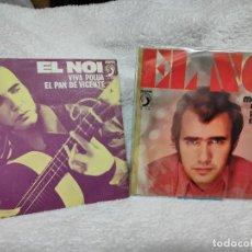 Disques de vinyle: EL NOI - DOS SINGLES DE LOS 70. Lote 275281913