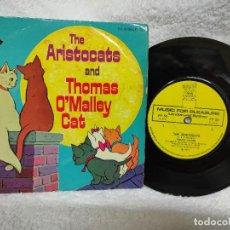 Discos de vinilo: THE ARISTOCATS/ RONNIE HILTON -1971 FRANCÉS. Lote 275287668