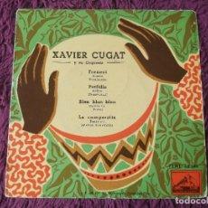 """Discos de vinilo: XAVIER CUGAT Y SU ORQUESTA , VINYL 7"""" EP SPAIN 7EML 28.040. Lote 275295098"""