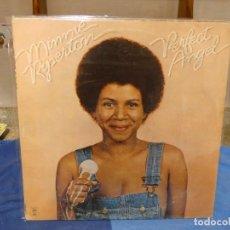 Disques de vinyle: LP USA CA 1974 MINNIE RIPPERTON PERFECT ANGEL 1974 DECENTE. Lote 275297208