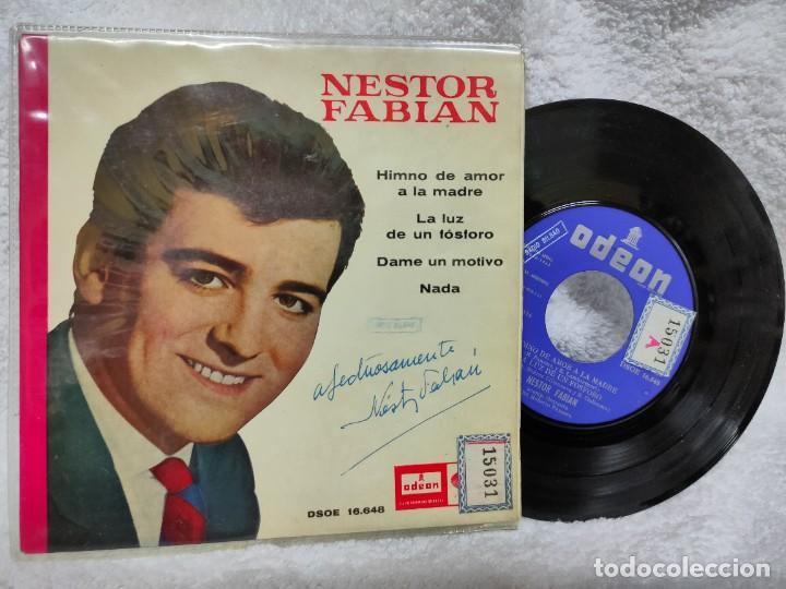 NÉSTOR FABIÁN/ HIMNO DEL AMOR A LA MADRE 1965 (Música - Discos de Vinilo - EPs - Solistas Españoles de los 50 y 60)