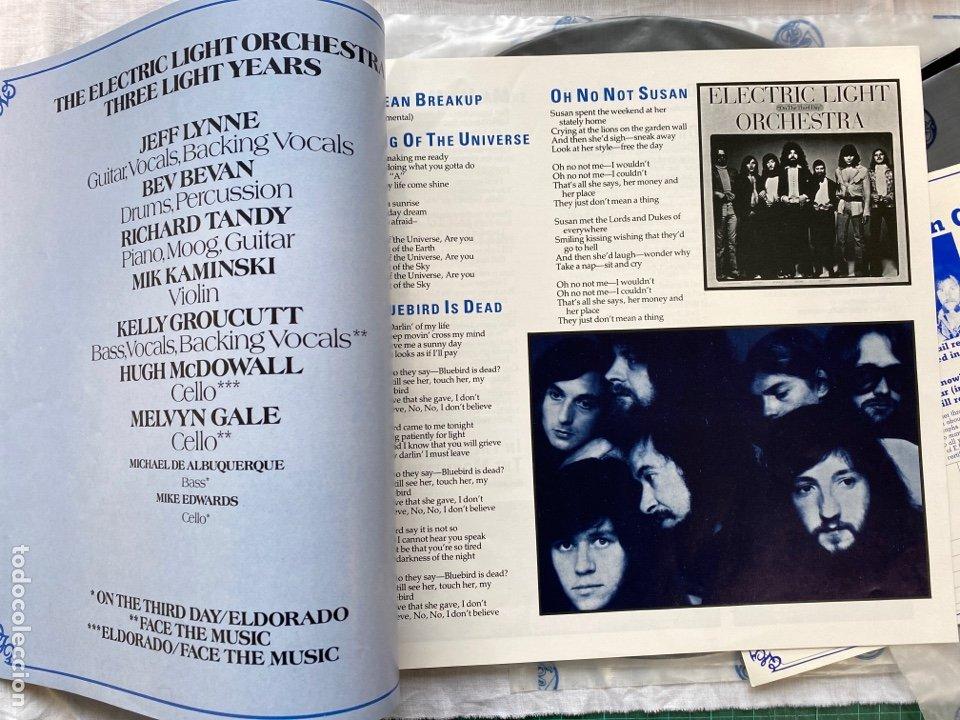 Discos de vinilo: Electric Light Orchestra - Three Light Years (3xLP + Box, Comp) (1978/UK) - Foto 4 - 275303578