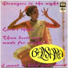Discos de vinilo: BALSARA - STRANGERS IN THE NIGHT - EP SPAIN 1967 - ODEON DSOE 16.728 - BEATLES. Lote 275306143