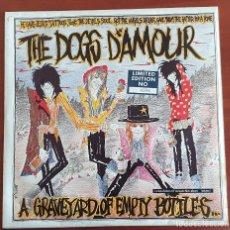 """Discos de vinilo: THE DOGS D'AMOUR – A GRAVEYARD OF EMPTY BOTTLES VINYL, 10"""", MINI-ALBUM. Lote 275307768"""