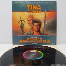 Discos de vinilo: TINA TURNER - WE DON'T NEED ANOTHER HERO 1985 ED HOLANDESA. Lote 275312643