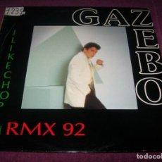 Discos de vinilo: GAZEBO - I LIKE CHOPIN ...MAXISINGLE - REMIX 92 - NUEVA VERSION - DANCE. Lote 275317513
