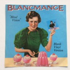 Discos de vinilo: BLANCMANGE – BLIND VISION / HEAVEN KNOWS WHERE HEAVEN IS UK,1983 LONDON RECORDS. Lote 275336223
