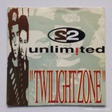 "Discos de vinilo: 2 UNLIMITED – TWILIGHT ZONE (7"" VOCAL) / TWILIGHT ZONE (7"" INSTRUMENTAL) HOLANDA,1992. Lote 275336958"