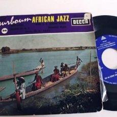 Discos de vinilo: SURBOUM AFRICAN JAZZ-EP LINDA LINDA +3. Lote 275340078