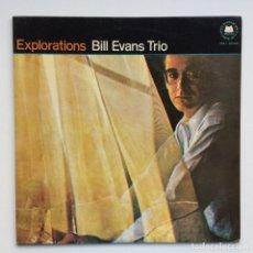 Discos de vinilo: BILL EVANS TRIO – EXPLORATIONS JAPAN,1974 MILESTONE. Lote 275341603