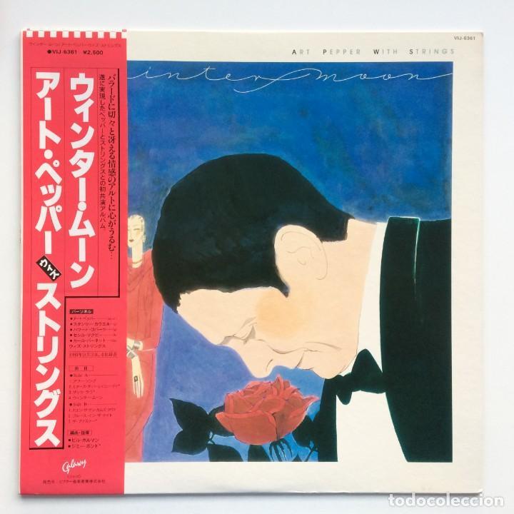 ART PEPPER – WINTER MOON JAPAN,1981 GALAXY (Música - Discos - LP Vinilo - Jazz, Jazz-Rock, Blues y R&B)