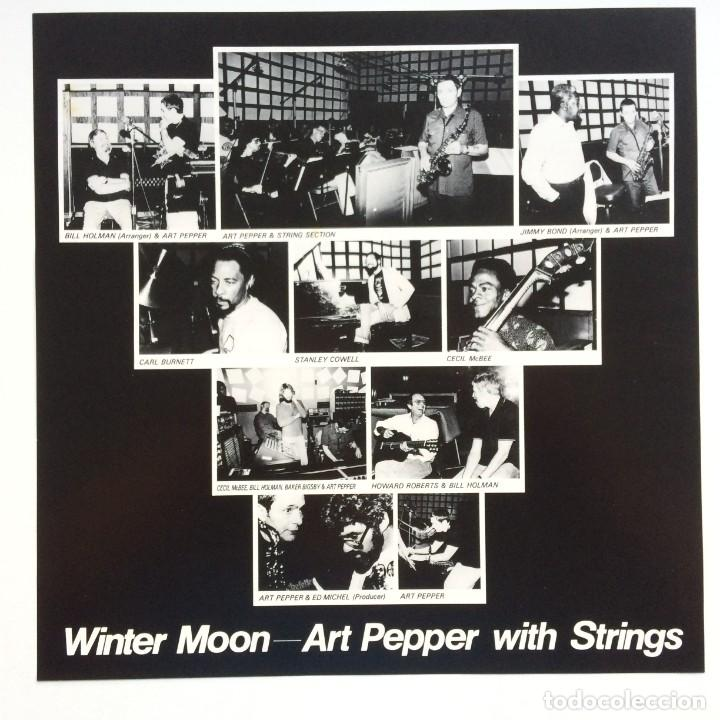 Discos de vinilo: Art Pepper – Winter Moon Japan,1981 Galaxy - Foto 4 - 275341773