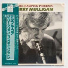 Discos de vinilo: GERRY MULLIGAN – LIONEL HAMPTON PRESENTS GERRY MULLIGAN JAPAN,1977 LEGENDS OF MUSIC. Lote 275341893