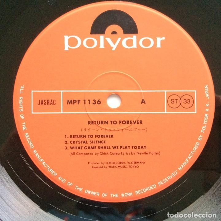 Discos de vinilo: Chick Corea – Return To Forever Japan,1978 Polydor - Foto 4 - 275342078