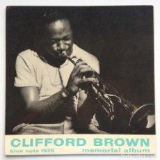 Discos de vinilo: CLIFFORD BROWN – MEMORIAL ALBUM JAPAN,1983 BLUE NOTE. Lote 275342343