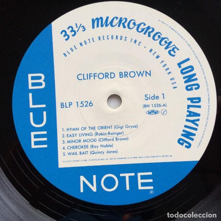 Discos de vinilo: Clifford Brown – Memorial Album Japan,1983 Blue Note - Foto 4 - 275342343