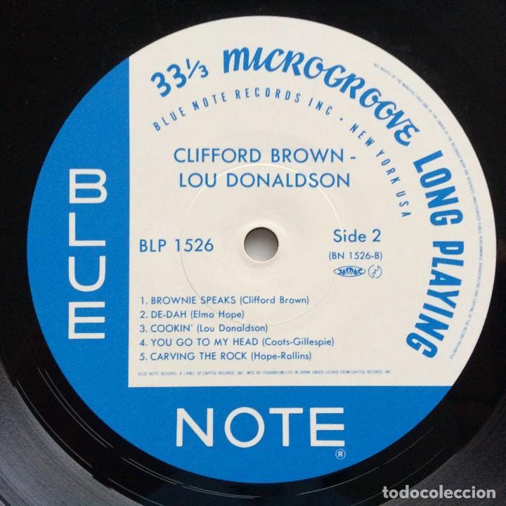 Discos de vinilo: Clifford Brown – Memorial Album Japan,1983 Blue Note - Foto 5 - 275342343