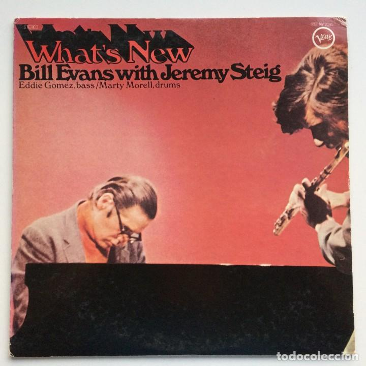 BILL EVANS WITH JEREMY STEIG – WHAT'S NEW JAPAN,1981 VERVE RECORDS (Música - Discos - LP Vinilo - Jazz, Jazz-Rock, Blues y R&B)