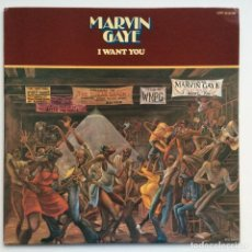 Discos de vinilo: MARVIN GAYE – I WANT YOU JAPAN,1976 MOTOWN. Lote 275342643