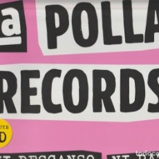 Disques de vinyle: LA POLLA RECORDS – NI DESCANSO, NI PAZ! SELLO: CULTURA ROCK RECORDS – 87247. Lote 275491808
