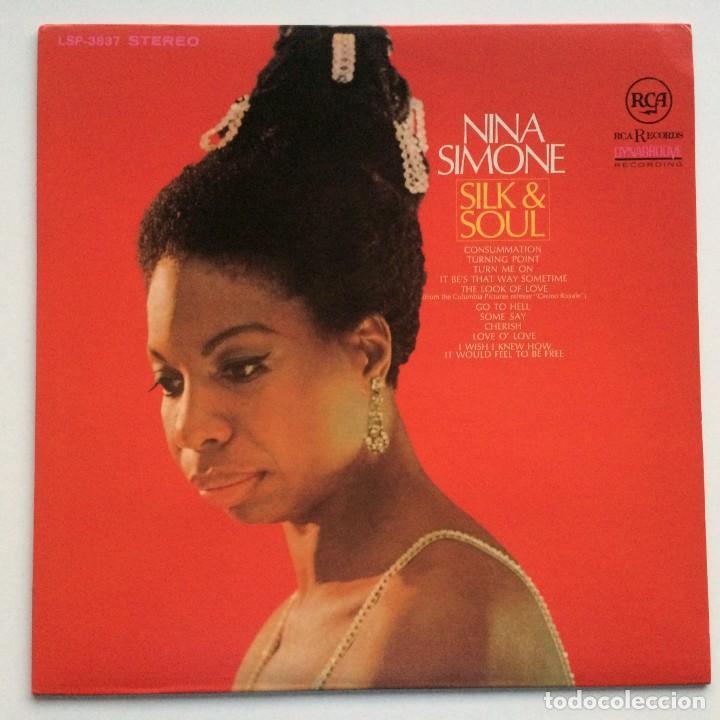 NINA SIMONE – SILK & SOUL JAPAN,200 LIMITED EDITION RCA (Música - Discos - LP Vinilo - Jazz, Jazz-Rock, Blues y R&B)