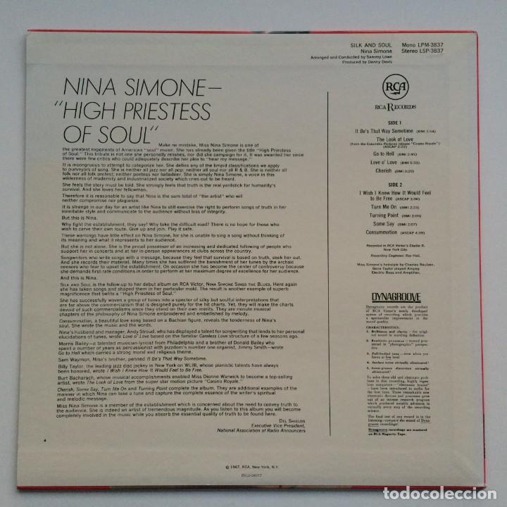 Discos de vinilo: Nina Simone – Silk & Soul Japan,200 Limited Edition RCA - Foto 2 - 275491858