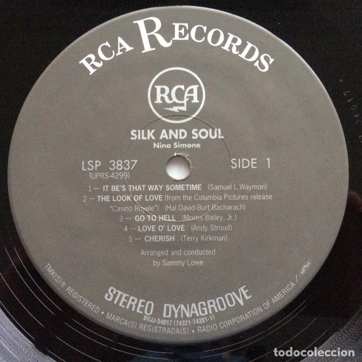 Discos de vinilo: Nina Simone – Silk & Soul Japan,200 Limited Edition RCA - Foto 4 - 275491858