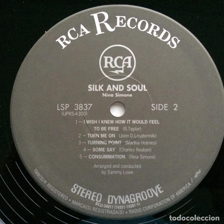 Discos de vinilo: Nina Simone – Silk & Soul Japan,200 Limited Edition RCA - Foto 5 - 275491858