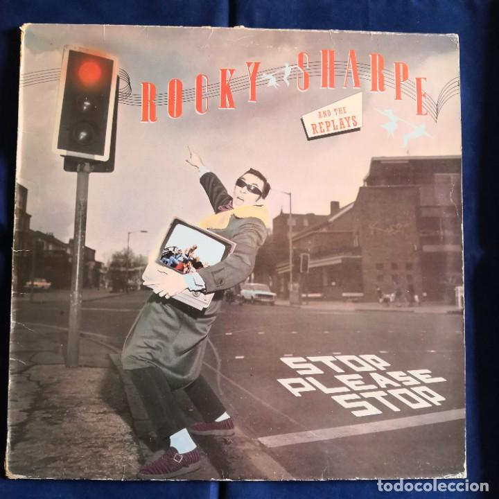 ROCKY SHARPE AND THE REPLAYS STOP PLEASE STOP! VG- / NM (Música - Discos de Vinilo - EPs - Pop - Rock - New Wave Internacional de los 80)