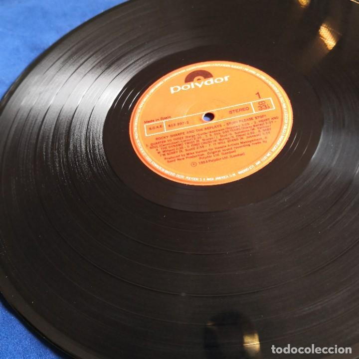 Discos de vinilo: ROCKY SHARPE AND THE REPLAYS Stop please Stop! VG- / NM - Foto 7 - 275494398
