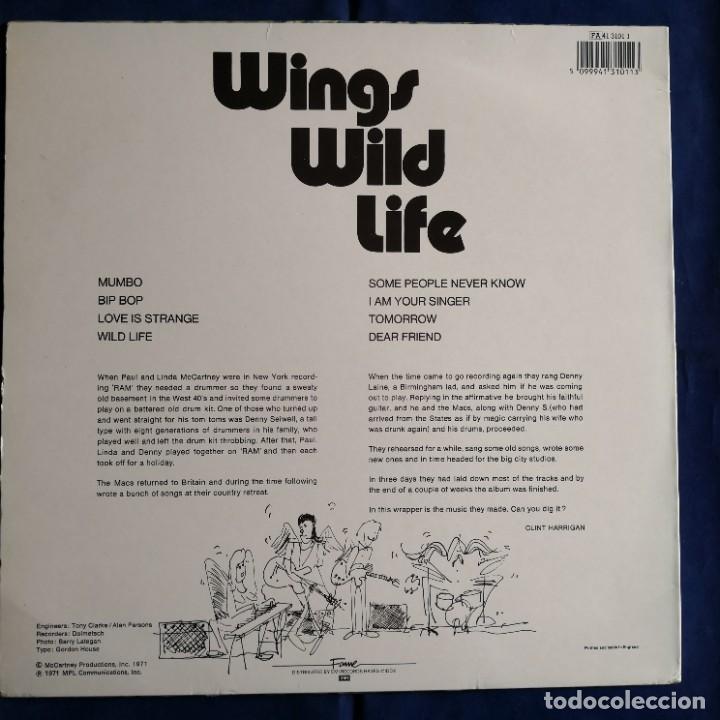 Discos de vinilo: WINGS Wild LIfe NM / NM - Foto 2 - 275495803