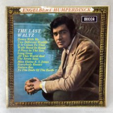 Discos de vinilo: LP - VINILO ENGELBERT HUMPERDINCK - THE LAST WALTZ - ESPAÑA - AÑO 1968. Lote 275496803