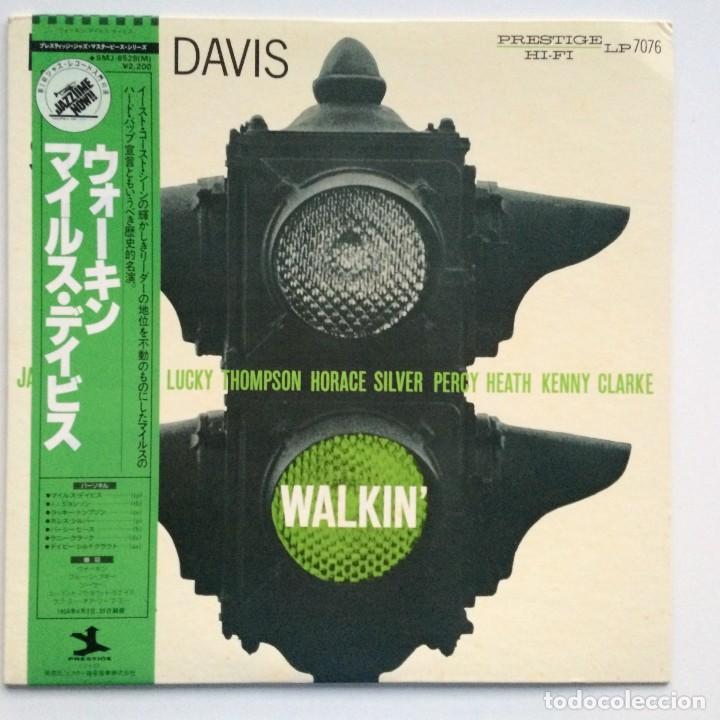 MILES DAVIS ALL STARS – WALKIN' JAPAN,1976 PRESTIGE (Música - Discos - LP Vinilo - Jazz, Jazz-Rock, Blues y R&B)