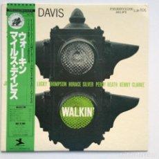 Discos de vinilo: MILES DAVIS ALL STARS – WALKIN' JAPAN,1976 PRESTIGE. Lote 275497233