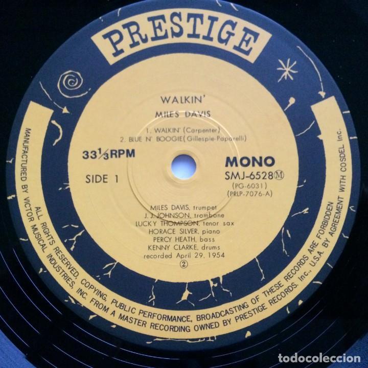 Discos de vinilo: Miles Davis All Stars – Walkin Japan,1976 Prestige - Foto 4 - 275497233
