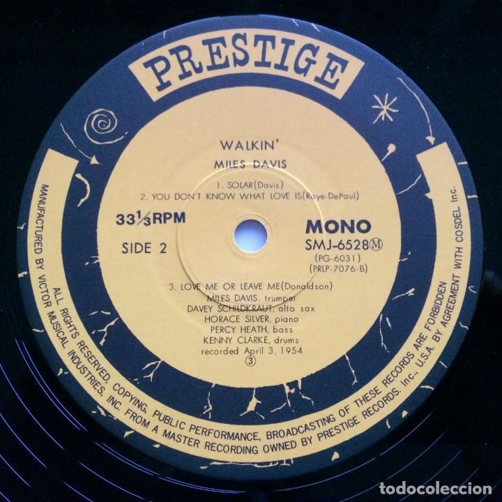 Discos de vinilo: Miles Davis All Stars – Walkin Japan,1976 Prestige - Foto 5 - 275497233