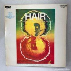 Discos de vinilo: LP - VINILO HAIR - THE AMERICAN TRIBAL LOVE - ROCK MUSICAL - ESPAÑA - AÑO 1969. Lote 275498698
