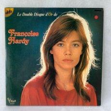 Discos de vinil: LP - VINILO FRANÇOISE HARDY - LE DOUBLE DISQUE DOR - DOBLE PORTADA - DOBLE LP - FRANCIA - AÑO 1971. Lote 275507213