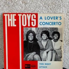 Discos de vinilo: DISCO EP THE TOYS A LOVER´S CONCIERTO 18X18CMS. Lote 275530193