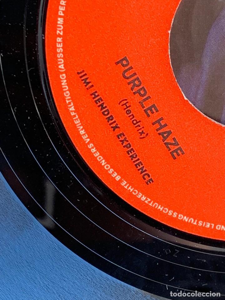 Discos de vinilo: DISCO EP JIMI HENDRIX EXPERIENCE PURPLE HAZE 51ST ANNIVERSARY MADE IN GERMANY 18X18CMS - Foto 7 - 275531168