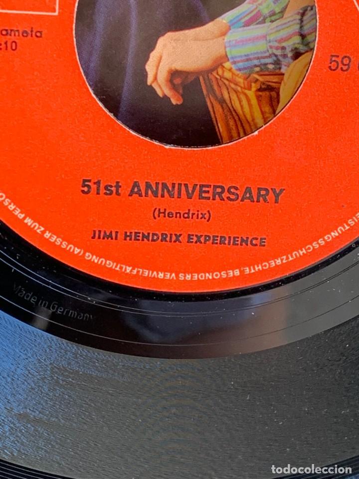 Discos de vinilo: DISCO EP JIMI HENDRIX EXPERIENCE PURPLE HAZE 51ST ANNIVERSARY MADE IN GERMANY 18X18CMS - Foto 12 - 275531168