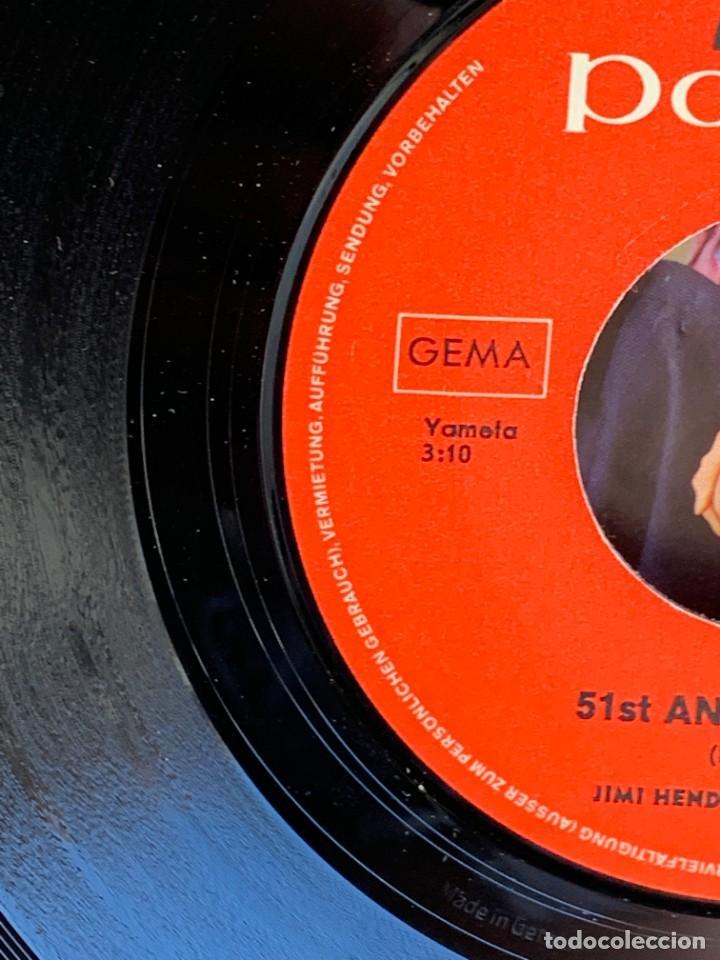 Discos de vinilo: DISCO EP JIMI HENDRIX EXPERIENCE PURPLE HAZE 51ST ANNIVERSARY MADE IN GERMANY 18X18CMS - Foto 15 - 275531168