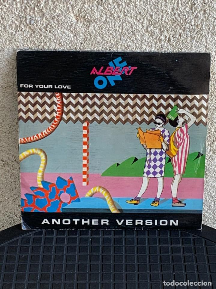 DISCO EP ALBERT ONE FOR YOUR LOVE ANOTHER VERSION 18X18CMS (Música - Discos de Vinilo - EPs - Pop - Rock Internacional de los 70)